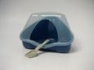 Kuweta NORA 1C dla chomika z łopatką - niebieska