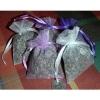 Suszone kwiaty lawendy - 4 woreczki z organzy