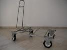 Wózek do transportu klatek i stołów trymerskich