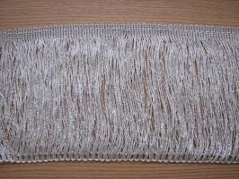 Frędzle srebrne  -  15 cm