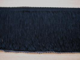 Frędzle czarne  -  30 cm