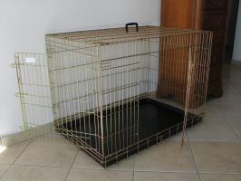 Klatka dla psa Kajtek   -  46 x 30,5 x 39 cm