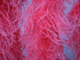 002 - Strusie pióra - koralowe - boa 1,80m